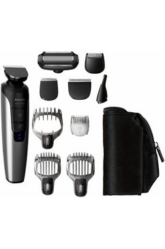 verzorgingsset Series 7000 QG3398/15, multigroom, zwart/zilverkleur