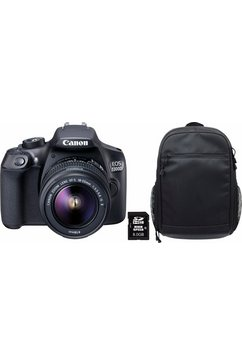EOS 1300D 18-55 IS zwart + rugzak CB-BP100 + 8 GB SD-kaart Class 10