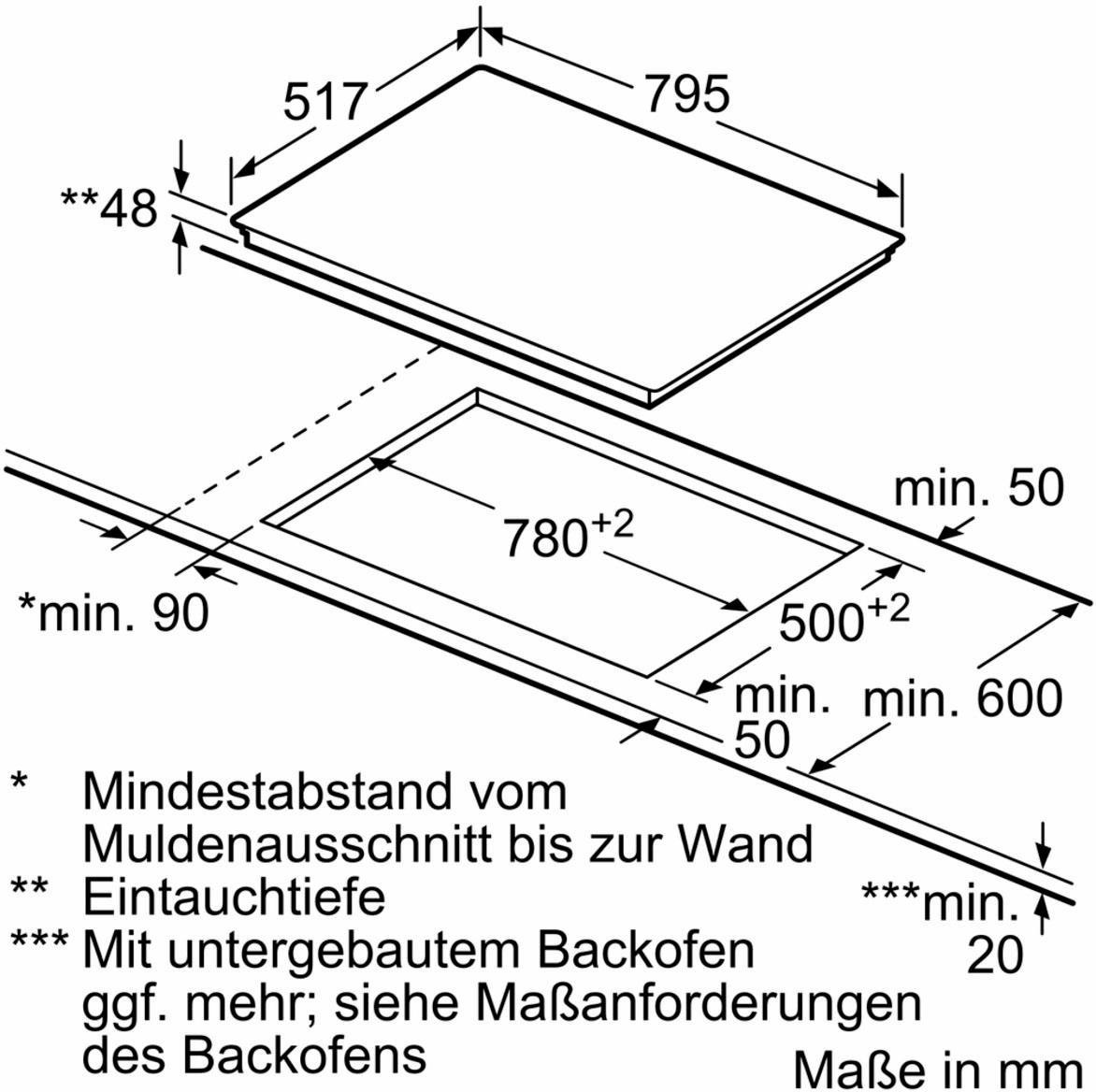 Bosch elektrische kookplaat serie 6 \'PKC845F17\' online bestellen ...