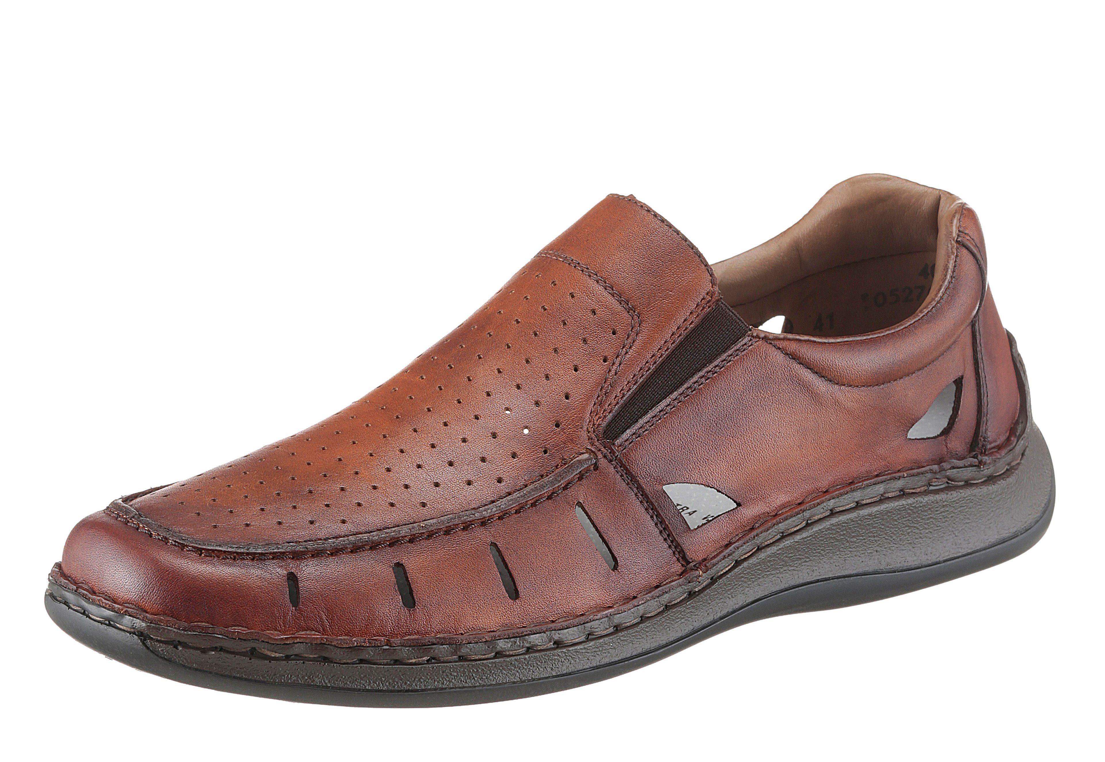 Sioux Cabaco Chaussures Brunes Avec L'entrée Pour Les Hommes FPkype