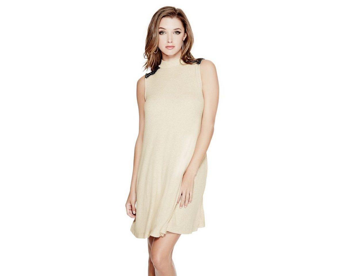 Guess jurk in viscosemix beige