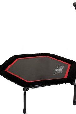 ® trampoline, zwart/rood, »T-200«