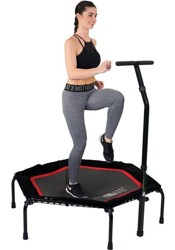 christopeit sport trampoline zwart rood t 200 makkelijk gekocht otto. Black Bedroom Furniture Sets. Home Design Ideas