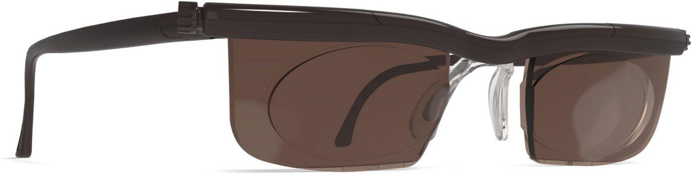Maximex zonnebril naar wens instelbaar »Adlens® SunDialsPlus«