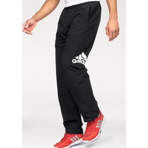 ADIDAS PERFORMANCE Sportbroek met logoprint