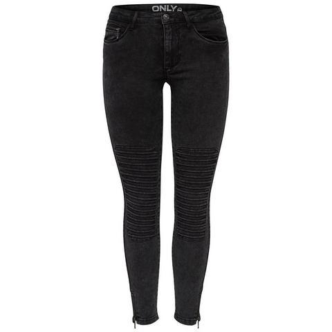 NU 15% KORTING: Only Royal reg sk ankle race Skinny jeans