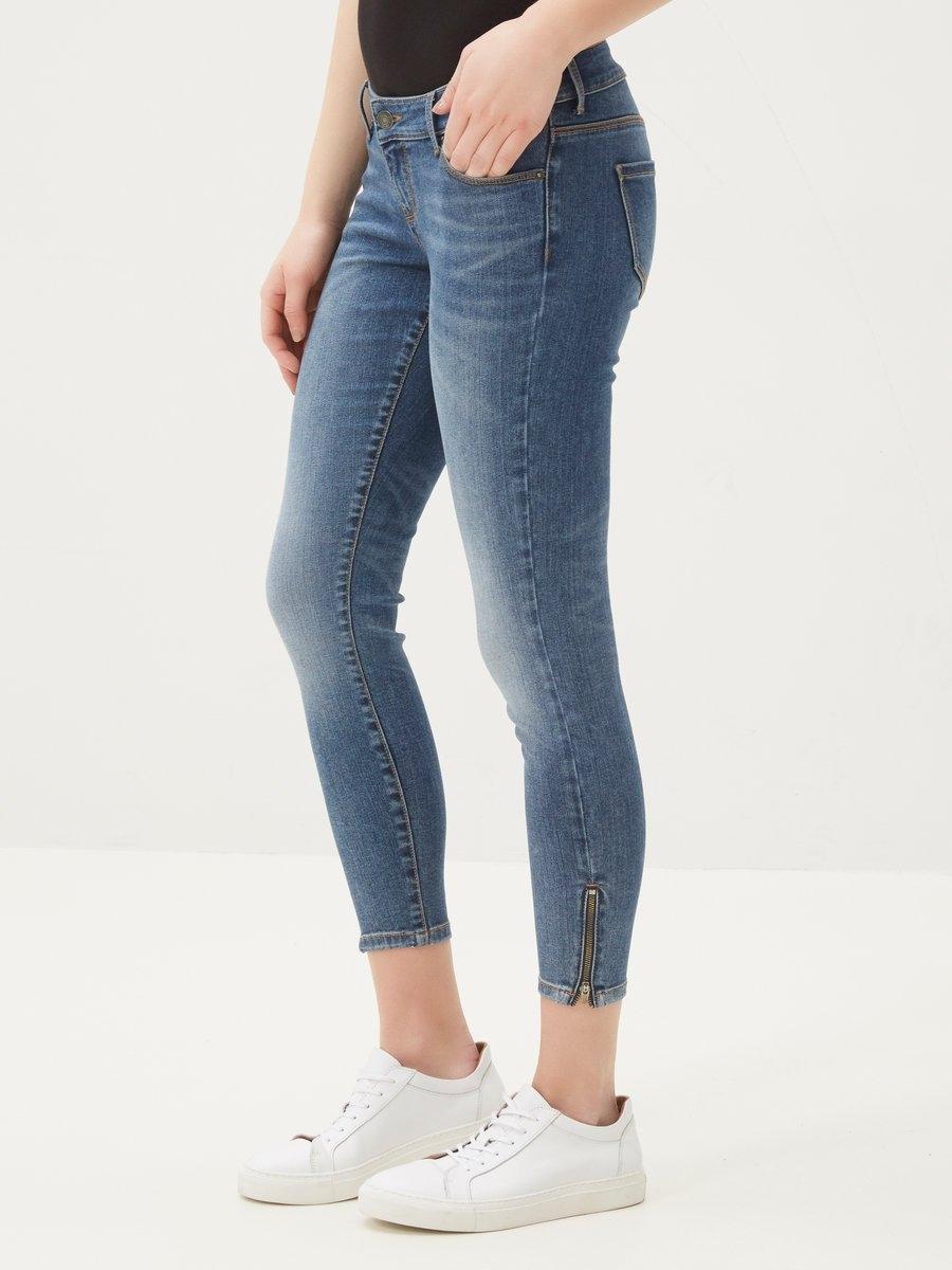VERO MODA Five LW Ankle Skinny jeans nu online kopen bij OTTO
