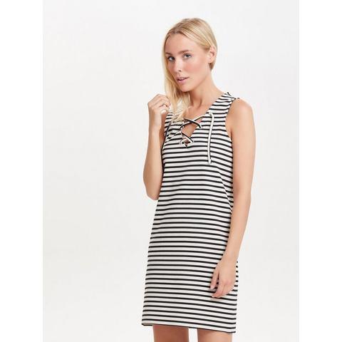 Only Lace-up Mouwloze jurk