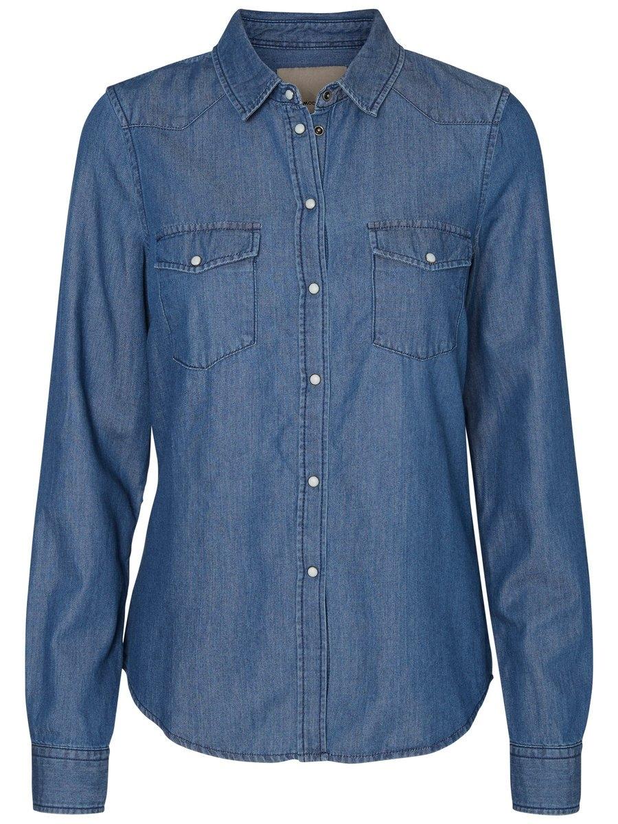 VERO MODA Loose fit spijkerhemd online kopen op otto.nl