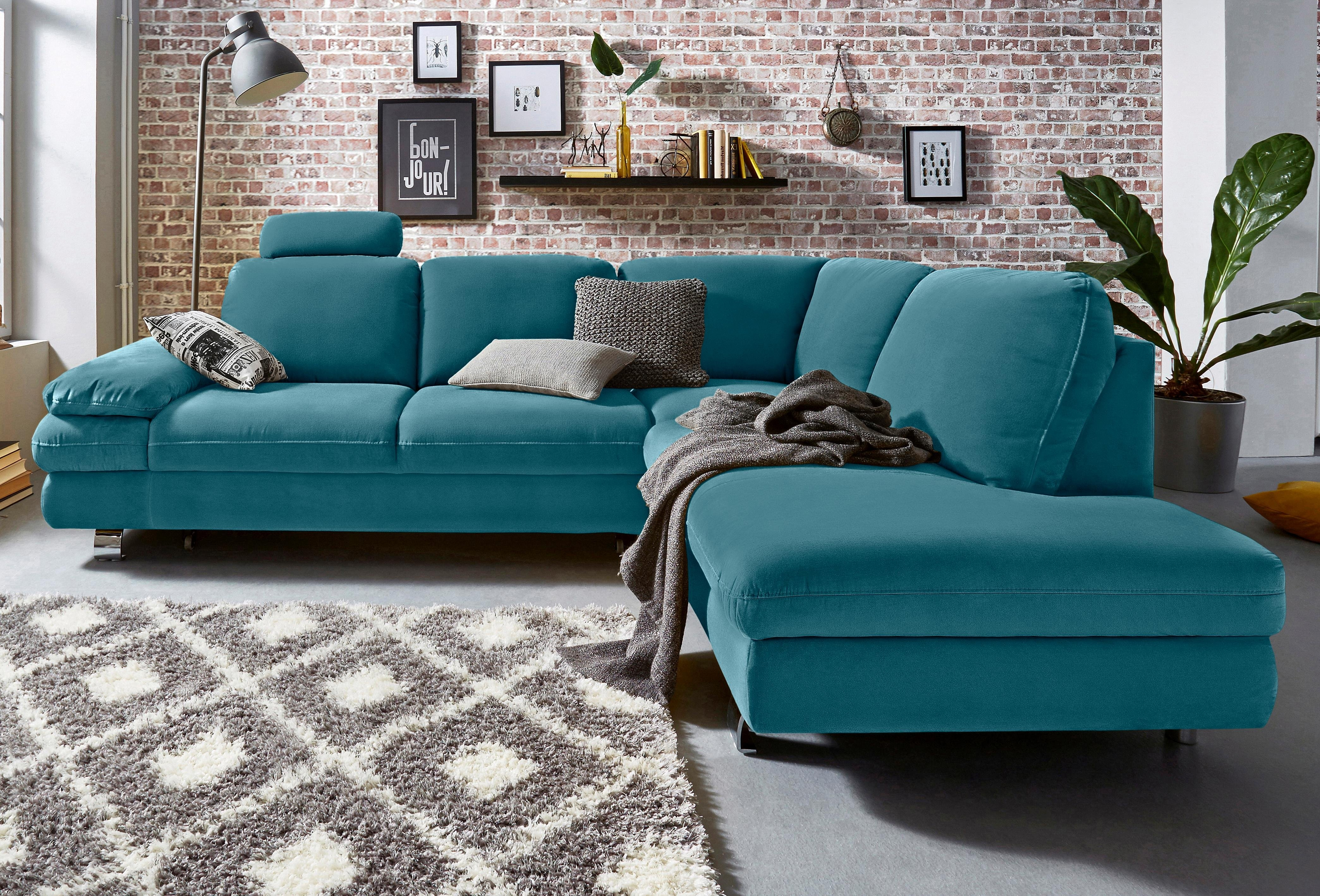 trendmanufaktur hoekbank naar keuze als slaapbank met. Black Bedroom Furniture Sets. Home Design Ideas