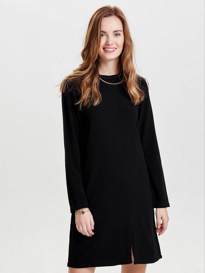 ONLY High-neck jurk met lange mouwen zwart