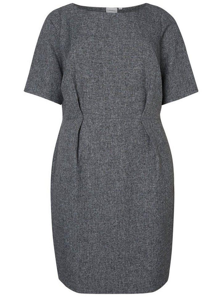 Junarose 2/4-mouw jurk grijs