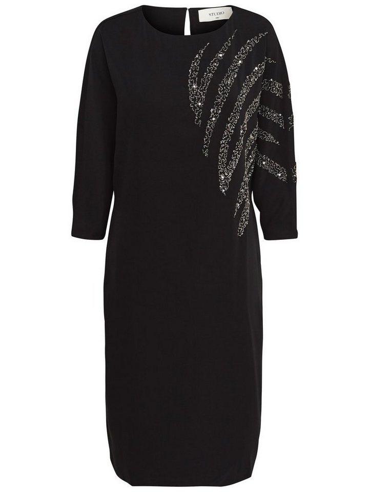ONLY Vleermuismouw jurk zwart
