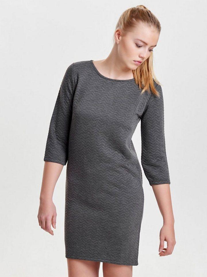 ONLY Gedetailleerde jurk grijs