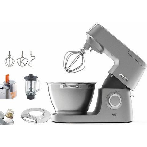 Kenwood Keukenmachine Chef Elite KVC5320S, 4,6 liter, grijs, met accessoireset,
