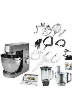 Keukenmachine  Chef XL Titanium KVL8320S, 6,7 liter, grijs, met accessoireset, 1700 Watt