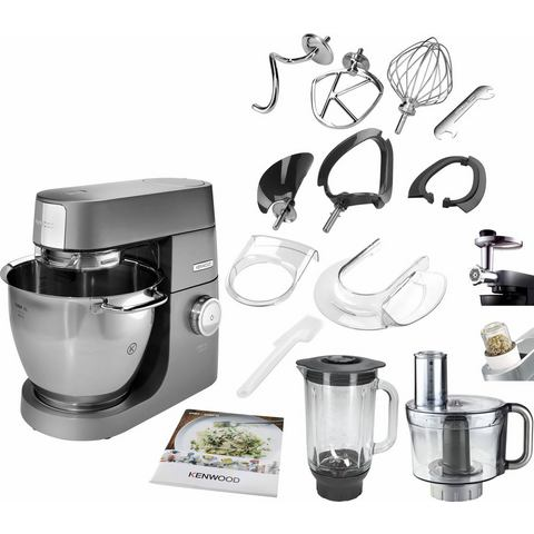 Kenwood Keukenmachine Chef XL Titanium KVL8320S, 6,7 liter, grijs, met accessoir