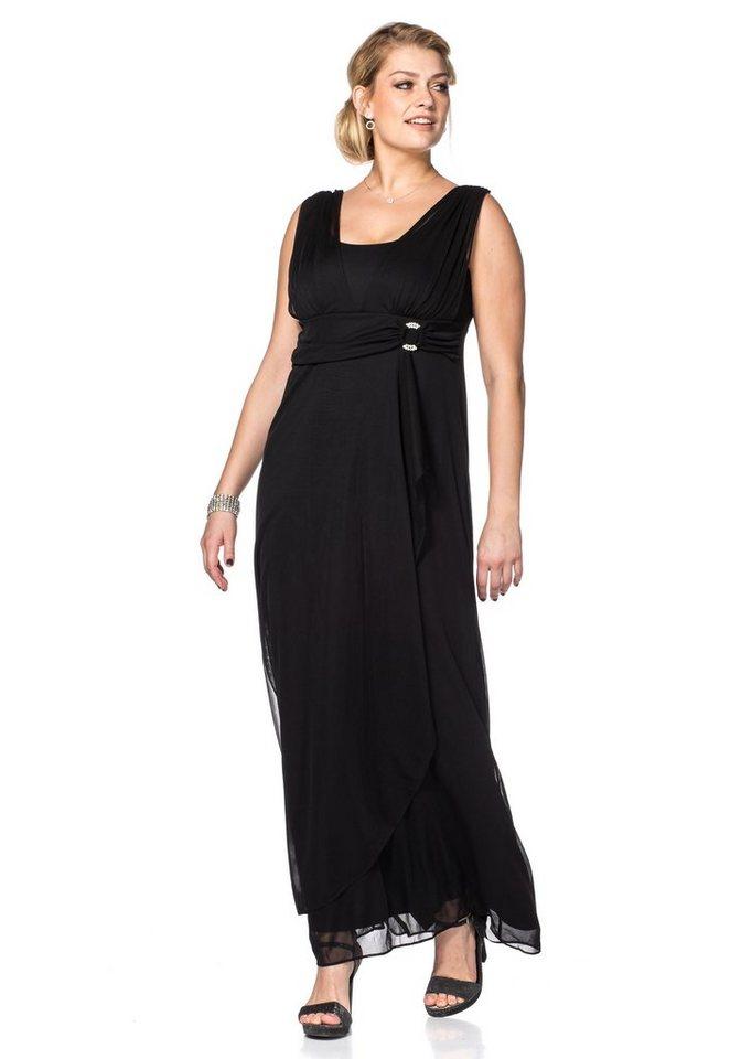 sheego Style Sheego Style jurk zwart