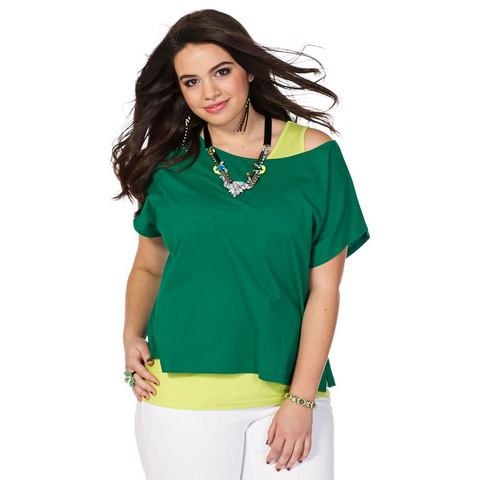 SHEEGO TREND Shirt en top in 2-delige set