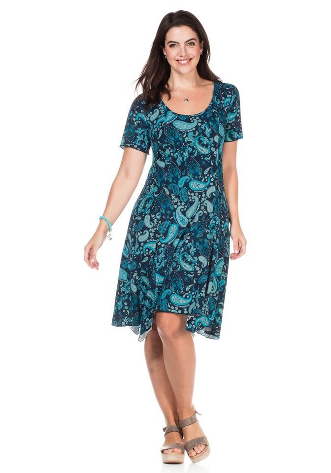 sheego Casual Sheego Casual jurk blauw