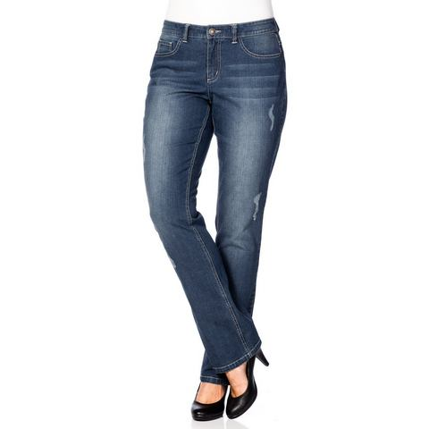 SHEEGO DENIM Stretch-jeans in recht model