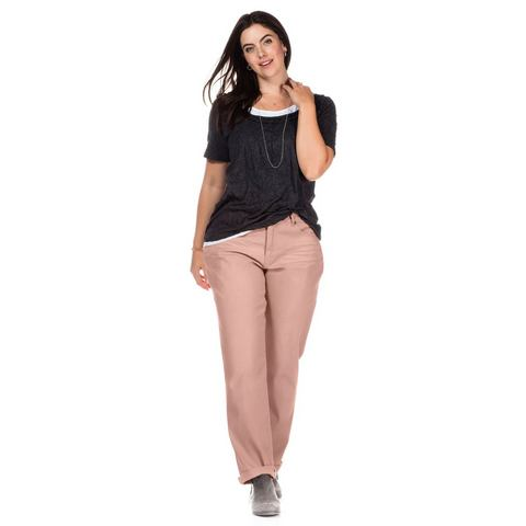 sheego Casual SHEEGO CASUAL stretchbroek 'recht'