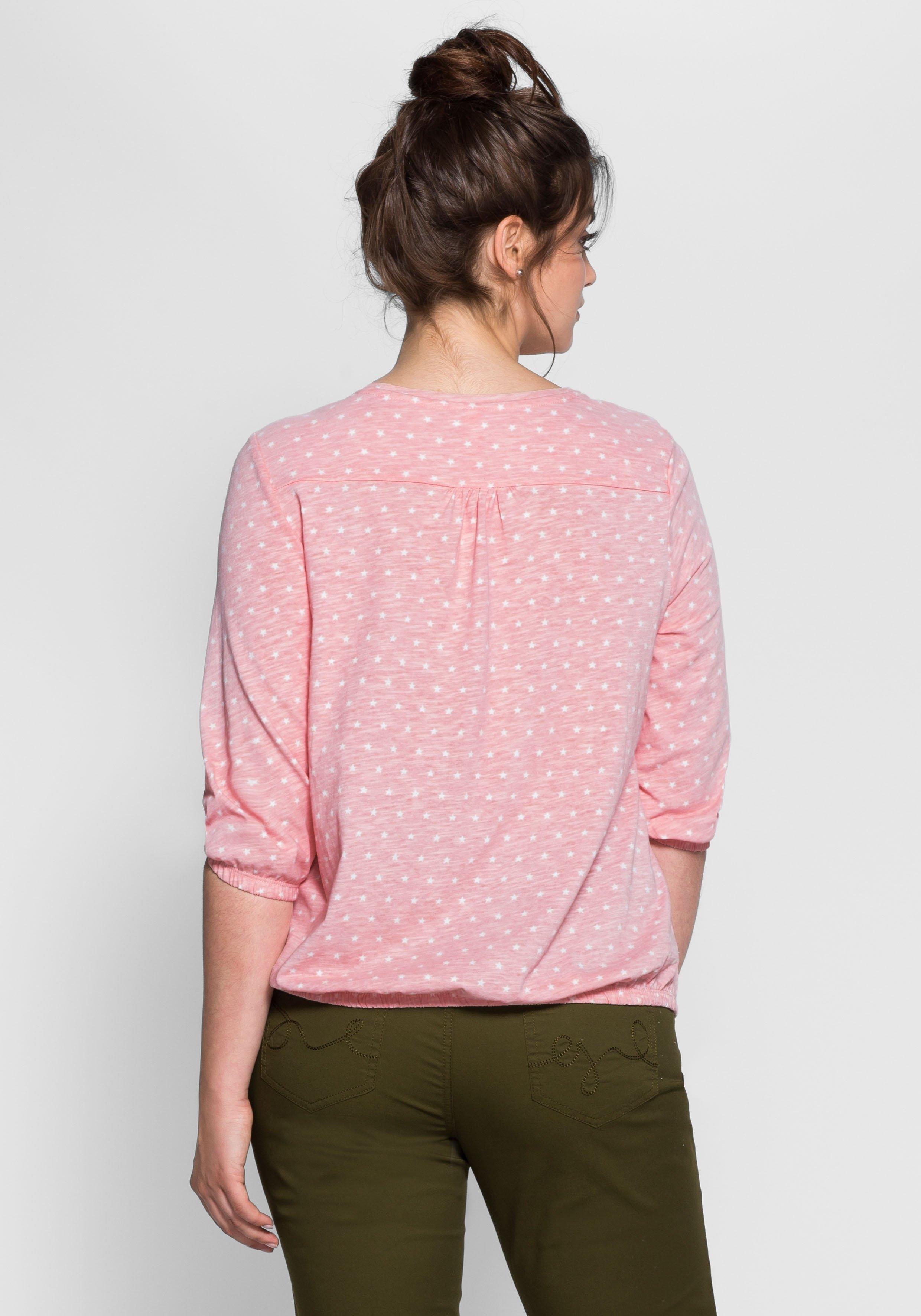 shirt Allover Met print Casual Bestellen Sheego Nu T Online PZuXOiwkT