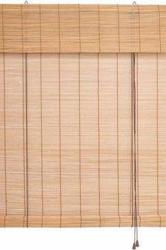Bamboe-rolgordijn