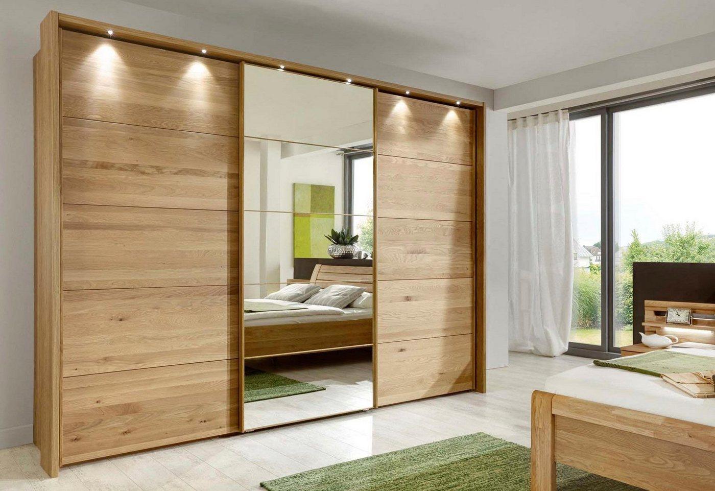 WIEMANN zweefdeurkast Kufstein met spiegeldeur, in 3 breedten