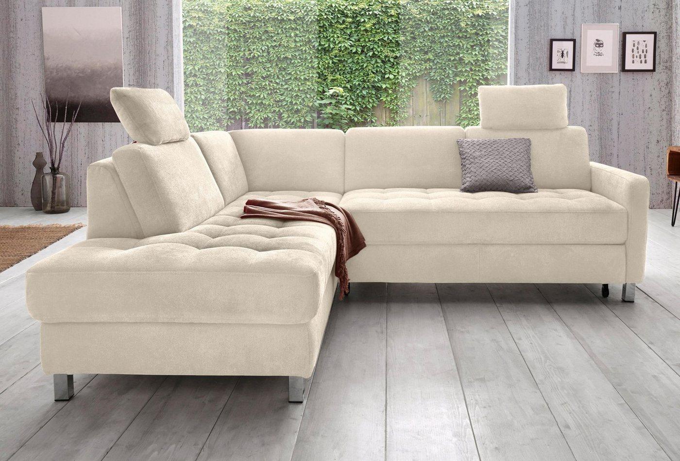 Sit&More hoekbank, naar keuze met slaapfunctie