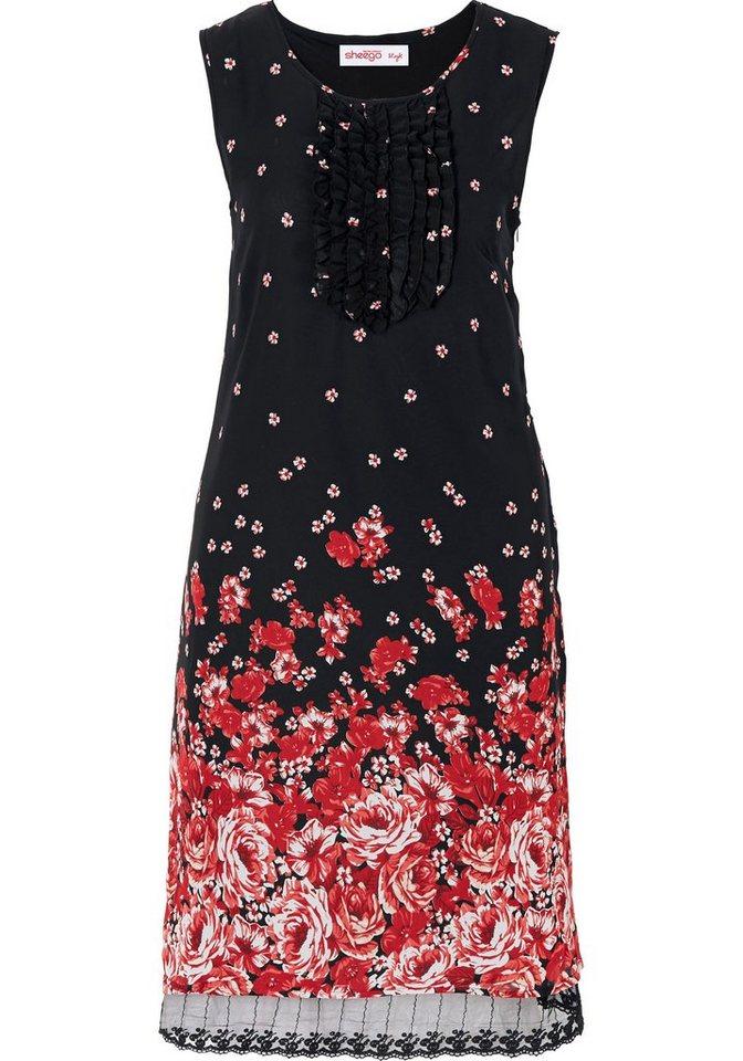 sheego Style Sheego Style jurk rood