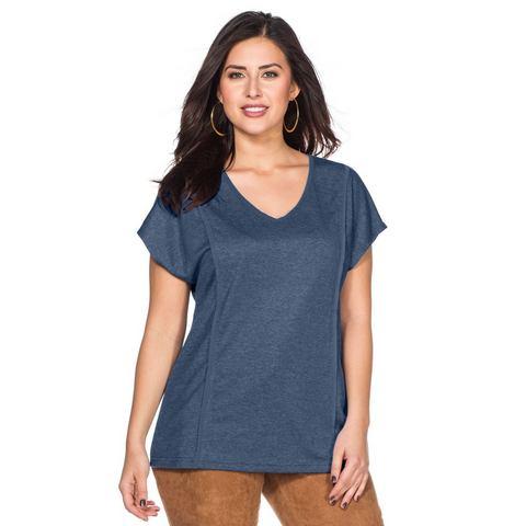NU 15% KORTING: SHEEGO TREND Shirt met V-hals