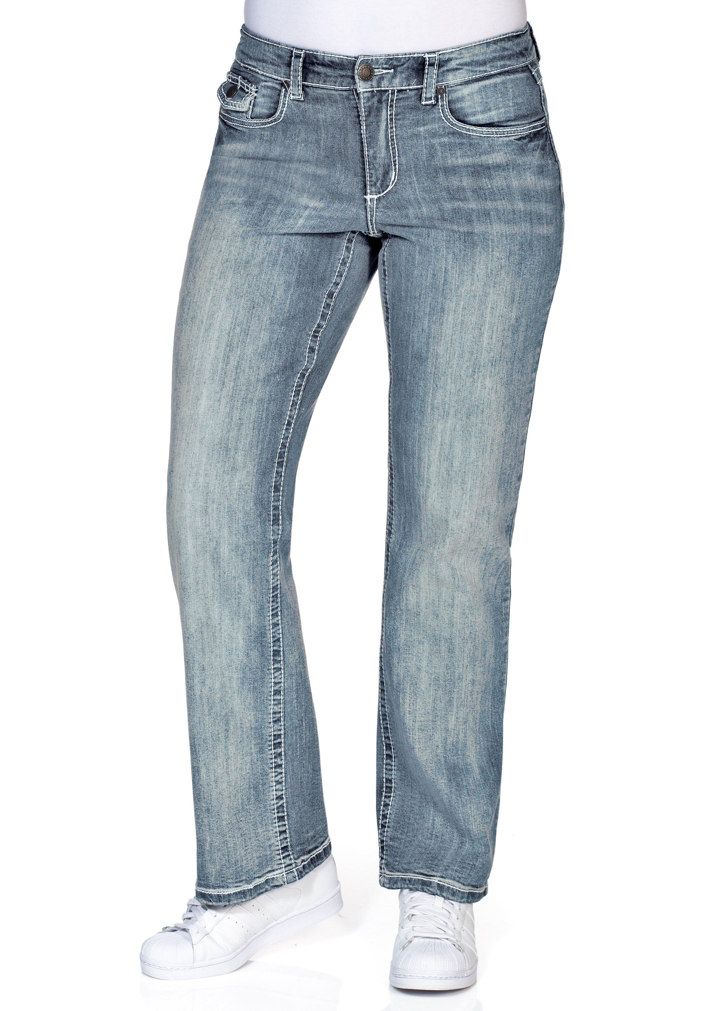 Sheego Denim SHEEGO DENIM jeans - gratis ruilen op otto.nl