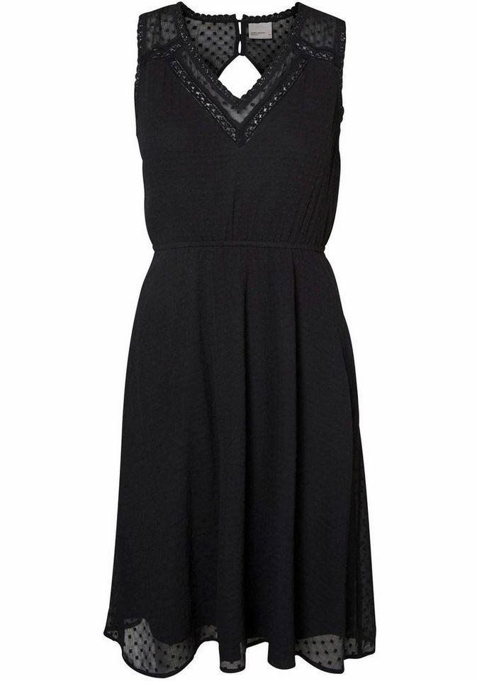 VERO MODA geweven jurk »BIANCA« zwart