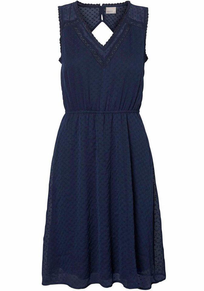 NU 21% KORTING: VERO MODA geweven jurk BIANCA blauw