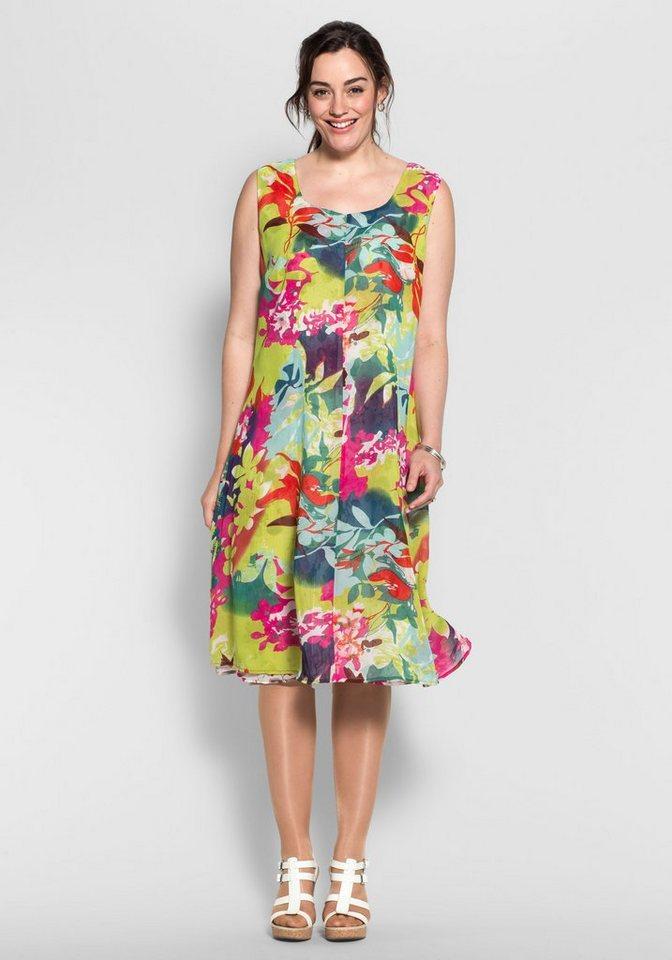 Joe Browns Joe Browns keerbare jurk in krinkel-look multicolor