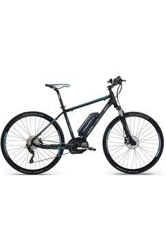 head elektrische crossbike voor heren, 28 inch, 10 shimano xt-versnellingen, »e-cross men« zwart
