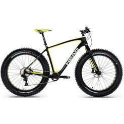 head fatbike, 26 inch, sram trigger, 11 versnellingen, »randall iii« zwart