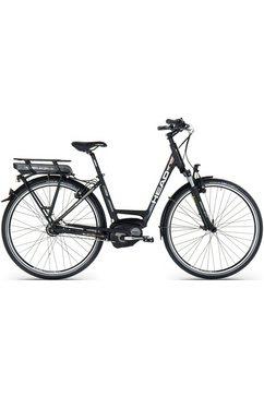 head e-citybike, 28 inch, shimano nexus 8, 8 versnellingen, »comfort« zwart