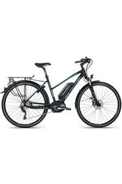 head e-trekkingbike voor vrouwen, 28 inch, shimano xt, 10 versnellingen, »e-trekking women« zwart