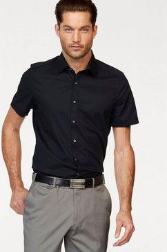 olymp businessoverhemd »level five body fit« zwart