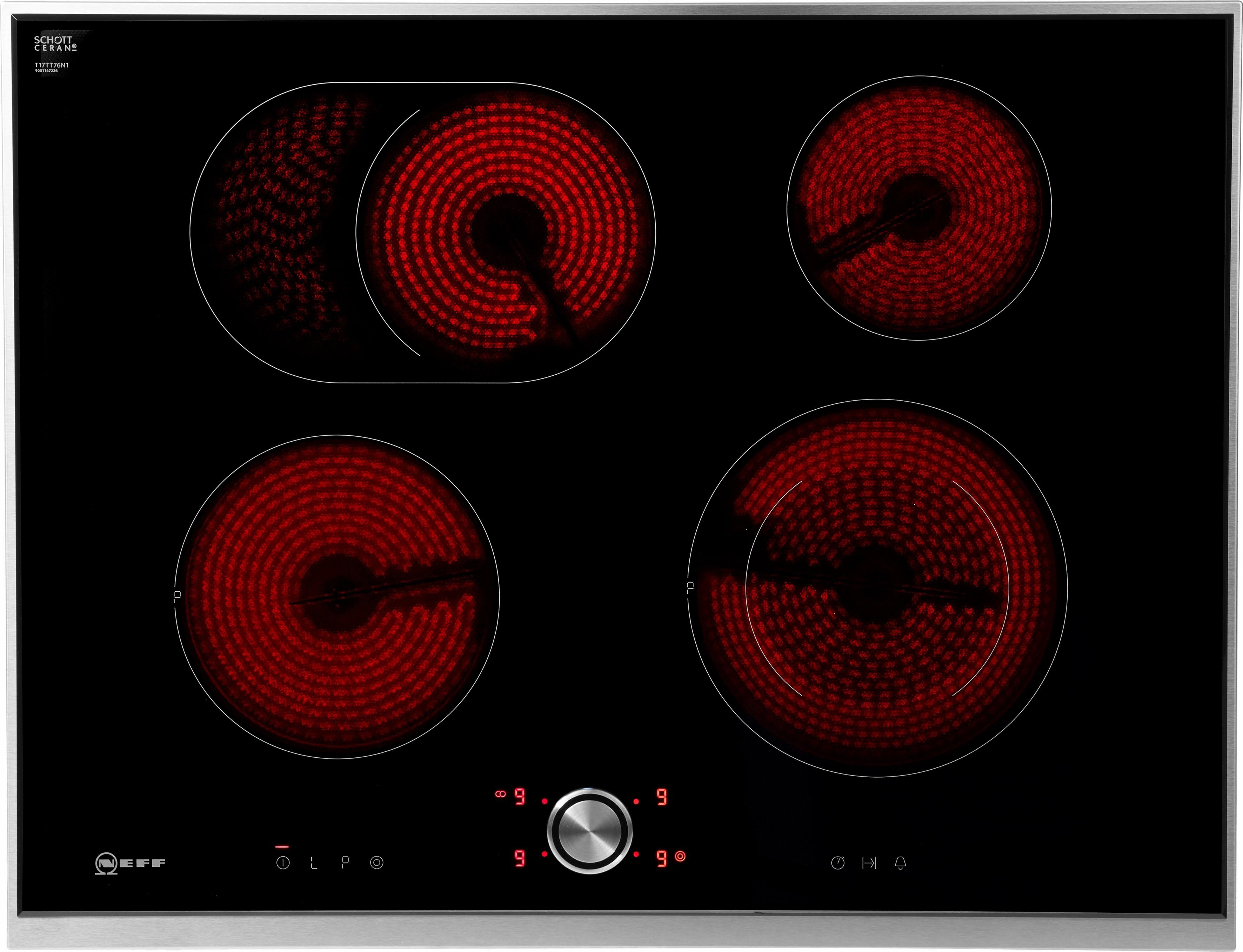 neff vrijstaande elektrische kookplaat met twistpad flat. Black Bedroom Furniture Sets. Home Design Ideas