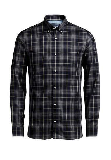 Jack & Jones Geruit Overhemd met lange mouwen