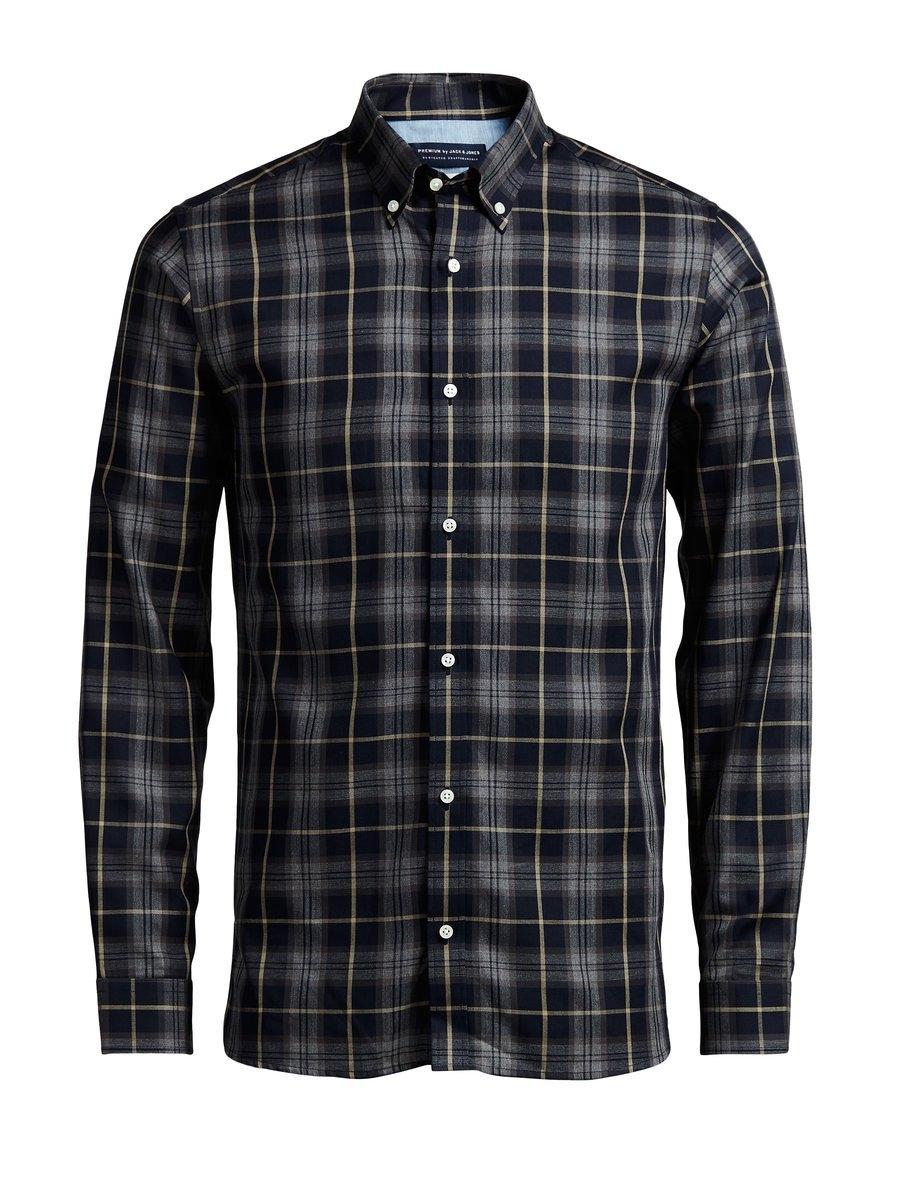 JACK & JONES Geruit Overhemd met lange mouwen - gratis ruilen op otto.nl