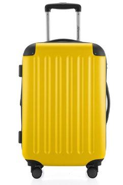 hauptstadtkoffer harde koffer met 4 rollers, »trolley spree« geel
