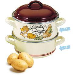 meine kueche aardappelstomer, email, inductie bruin