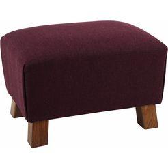 max winzer voetenbankje »footstool«, structuur paars
