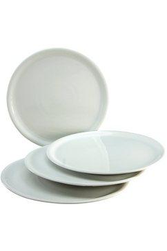 pizzabord, porselein, 2 afmetingen (4-dlg.)