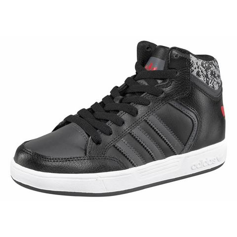 Adidas Varial Mid J Sneakers Core Black-Solid Grey-Scarle