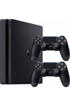 PlayStation 4 (PS4) 500 GB Slim + 2 wireless controllers DualShock4